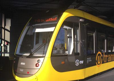 CAF tram in Utrecht