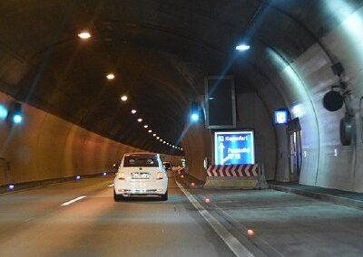 Bewegwijzering in tunnels