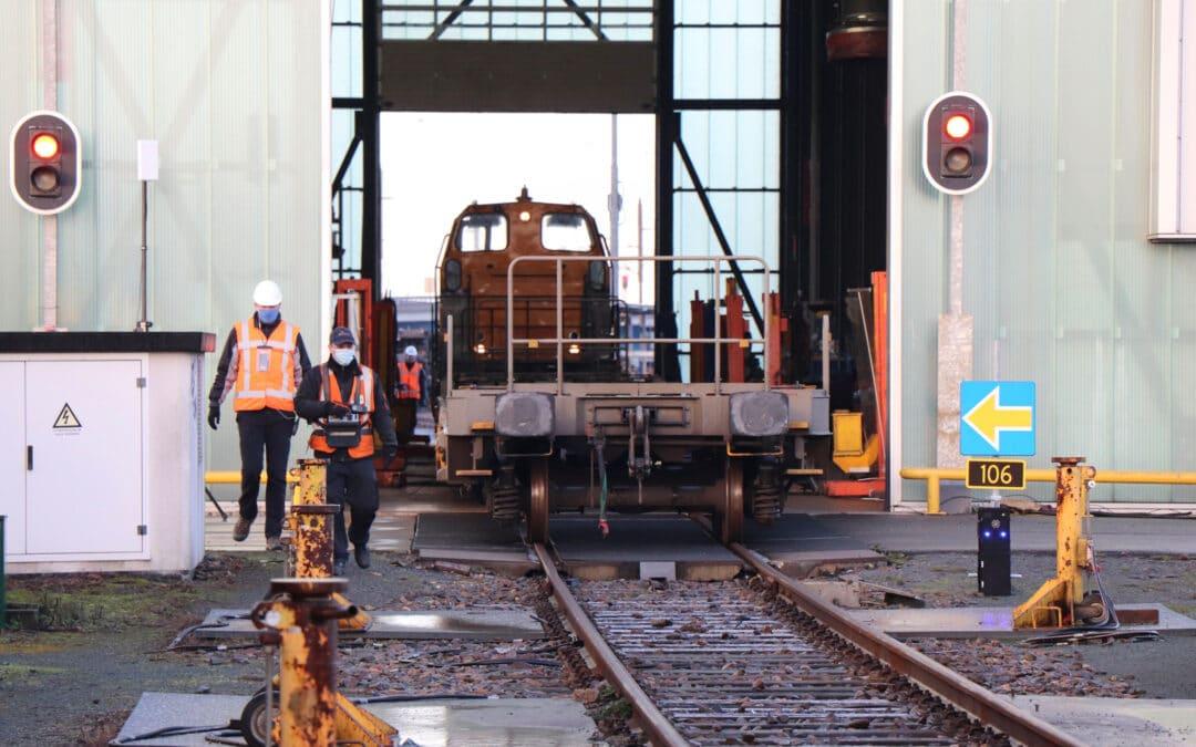 Hulpmiddel Rangeren met ERTMS