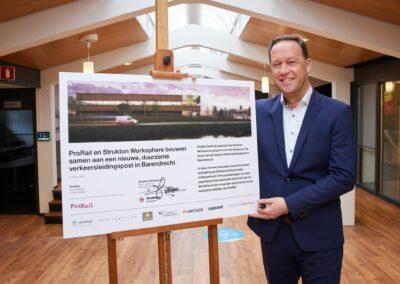 ProRail blij met ontwerp voor railverkeersleidingspost in Barendrecht